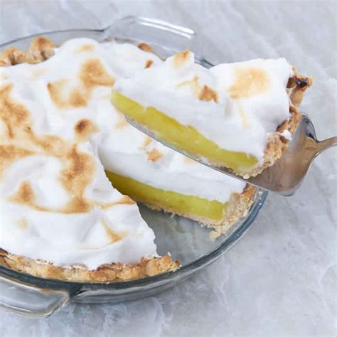recette de la tarte au citron meringuee ww pour votre
