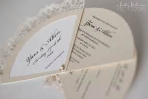 wedding stationery wedding invitation fans real weddings stationery by nulki nulks