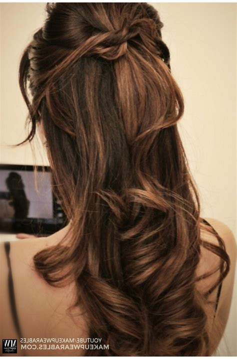 Half Updo Hairstyles Tutorial by 15 Ideas Of Partial Updo Hairstyles For Hair