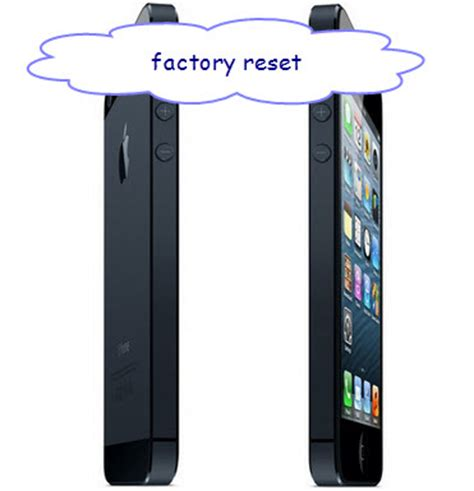 how do i factory reset my iphone how to set iphone into factory settings recover iphone