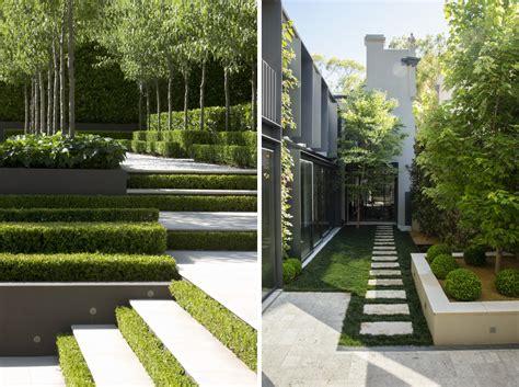 Modernen Garten Gestalten by Contemporary Landscapes Modern Gardens Inspiration For