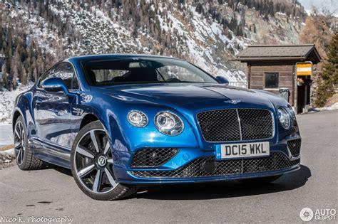 bentley continental gt speed bentley continental gt speed 2016 14 may 2016 autogespot