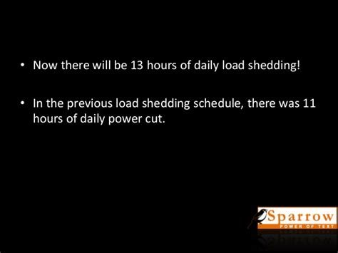 Loadshedding Increases To 91 Hours A Week