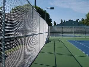 Athletic Field Fence Installation