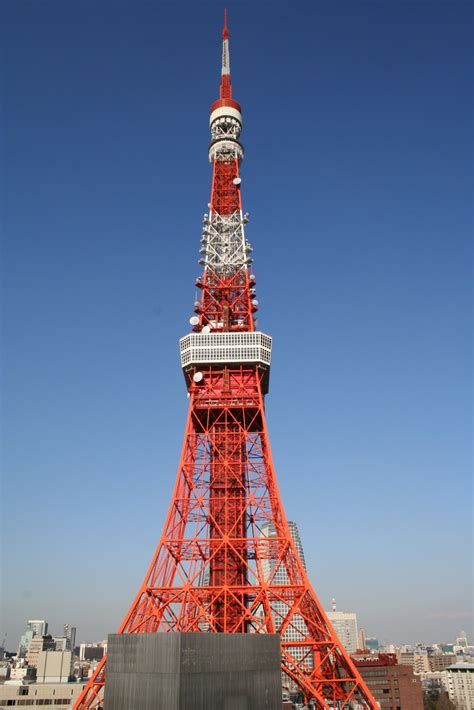 World Visits: Tokyo Tower Cultural Icon Of Japan