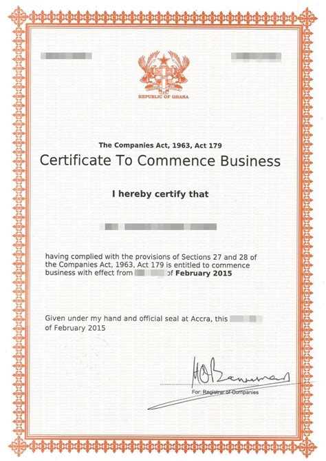 company registration form ghana company registration in ghana for investment trade of