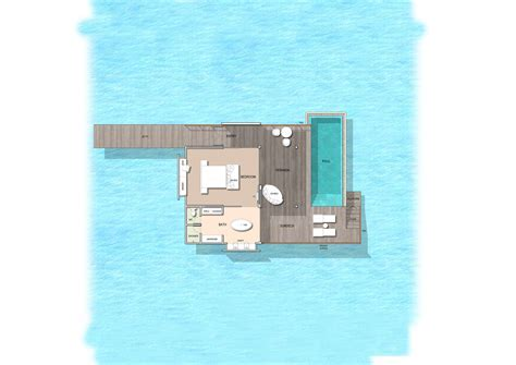 Water Villas with Pool in Maldives   Kuramathi Island Resort