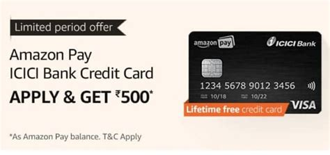 This benefit is offered under icici bank's culinary treats program. Amazon ICICI Bank Credit Card Offer: Get Rs.500 Cashback (Proof Added)