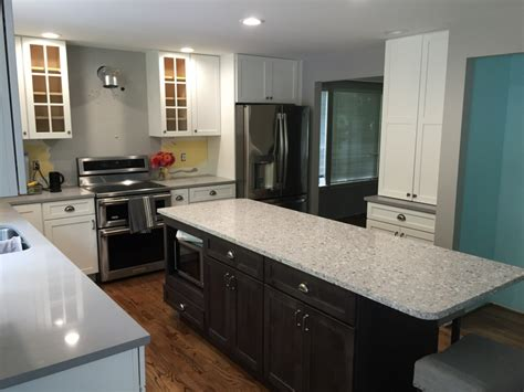 what are colors for a kitchen white kitchen cabinets with gray island tacoma wa 9828