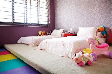 Great Children's Bedrooms In Hdb Flats