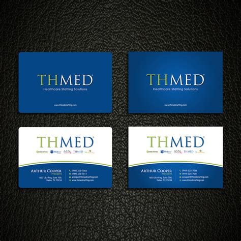design  corporate business card  thmed  amiable