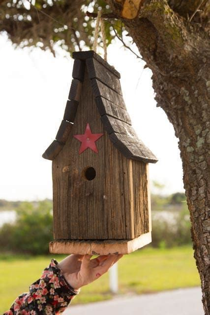 amish rustic tall wren bird house  dutchcrafters amish
