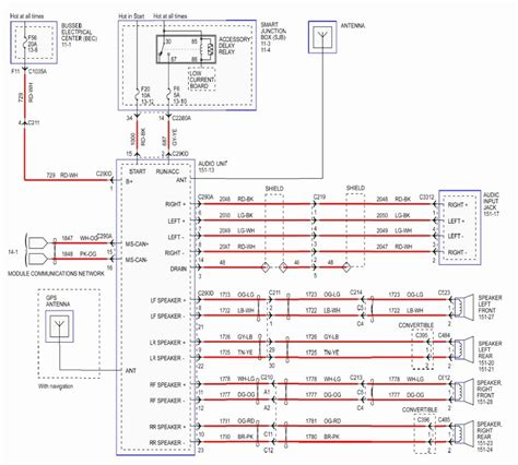 Stereo Wiring Diagram 04 F150 by 2003 F150 Radio Wiring Diagram Wiring Library