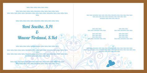 mataroni jasa desain undangan pernikahan