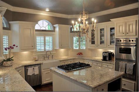 light colored granite bianco romano colored