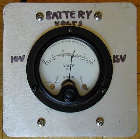 Expanded Scale Battery Volt Meter