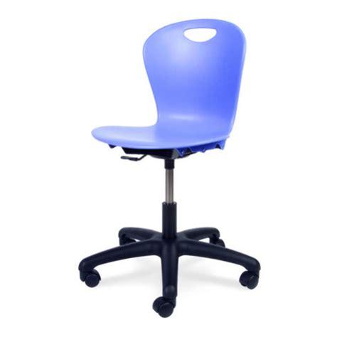 virco ztask18 zuma series mobile task chair with wheels