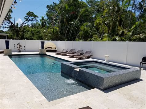 modern pools palm beach gardens modern pool spa custom swimming pool and spas palm beach pool crafters