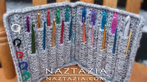 hairpin lace crochet diy learn how to crochet hook holder folder wallet