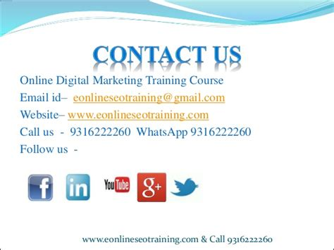seo marketing course digital marketing course seo in