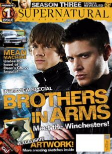 'Supernatural' Official Magazine Information | SEAT42F