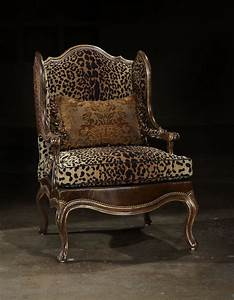 Animal print fabric leather fabric chair colorado for Animal print furniture home decor