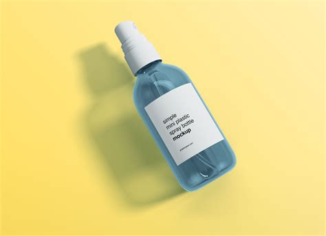 Includes special layers and smart objects for your creative works. Free Mini Transparent Spray Bottle Mockup PSD - Good Mockups