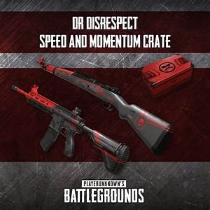 39PUBG39 Teams Up With DrDisRespect And Shroud For Weapon Skins