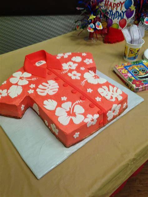 kupcake kerrys buttercream hawaiian shirt cake