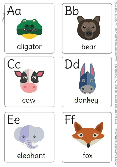13 Sets Of Free, Printable Alphabet Flash Cards
