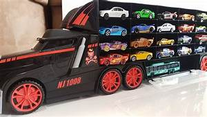 Toys Toys Toys : toy cars transportation by truck hot wheels welly disney video for kids youtube ~ Orissabook.com Haus und Dekorationen