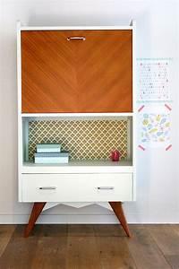 Pied De Meuble Vintage : secretaire vinage hector les jolis meubles ~ Dallasstarsshop.com Idées de Décoration