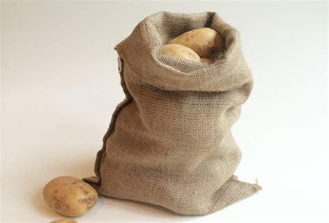 5 Hessian Sacks 30 x 45cm Jute Potato Vegetable Storage