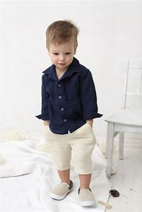 baby boy dress shirt wedding party 1st birthday baptism long With toddler boy dress clothes for wedding