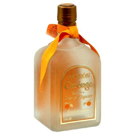 orange liqueur patron citronge orange liqueur 750ml