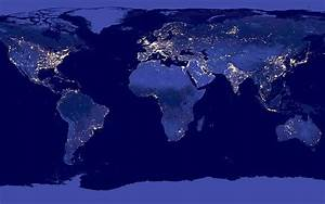 High Resolution NASA Earth at Night From Space (page 3 ...