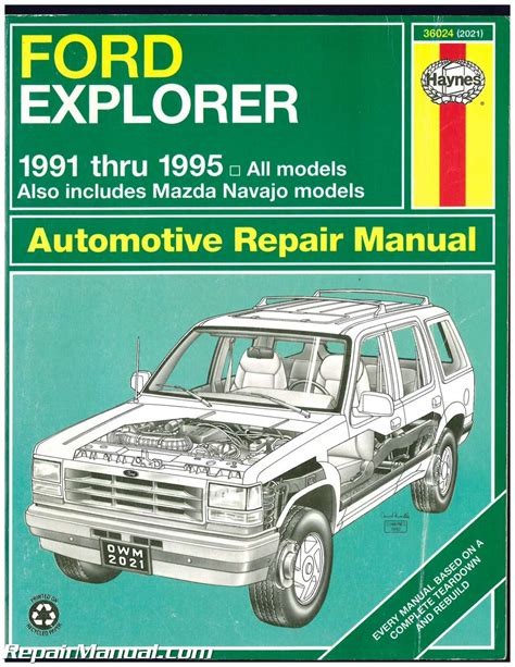 free online auto service manuals 1991 ford explorer instrument cluster used ford explorer mazda navajo mercury mountaineer automotive repair manual 1991 1995 haynes