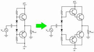 class b bjt amplifiers discrete semiconductor devices With pull pull amplifier
