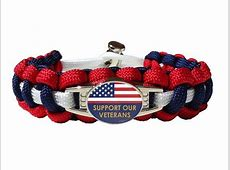 Choose Your Own Color Armed Forces Bracelet Made By US