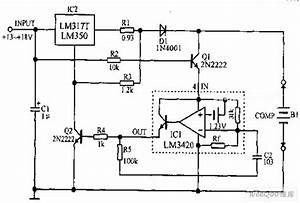 Lithium Ion Battery Charging Circuit Diagram