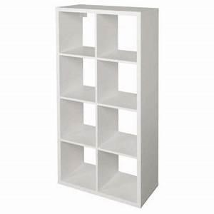 Etagere 6 Cases : tag re modulable 8 cases coloris blanc mixxit castorama ~ Teatrodelosmanantiales.com Idées de Décoration