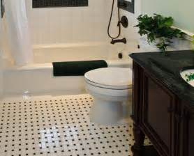 bathroom floor ideas vinyl 36 black and white vinyl bathroom floor tiles ideas and pictures