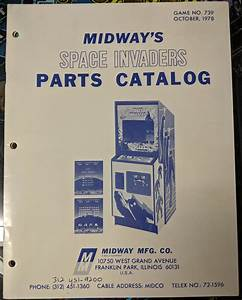 Space Invaders - Midway - Manual