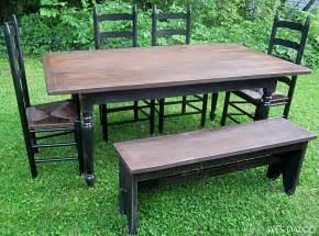 Farmhouse Bench Table