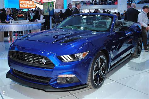 Detroit 2016 Ford Mustang Gt California Special Gtspirit