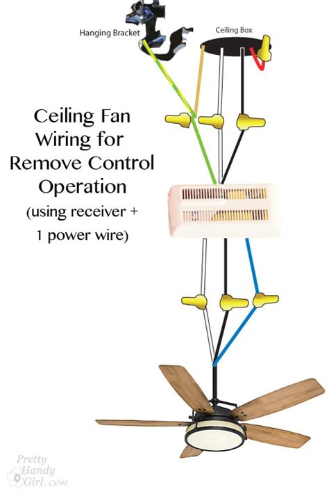 ceiling fan wire colors how to install a ceiling fan pretty handy