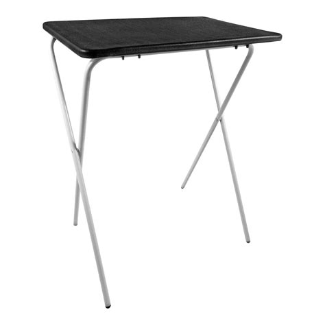 tv dinner tray table folding lightweight tray table desk ideal for laptops