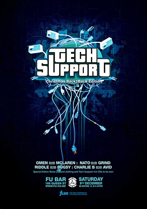 TechSupport poster by Crittz on DeviantArt