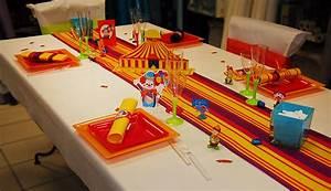 Décoration D Anniversaire : d coration d 39 anniversaire cirque d co clown ~ Dode.kayakingforconservation.com Idées de Décoration