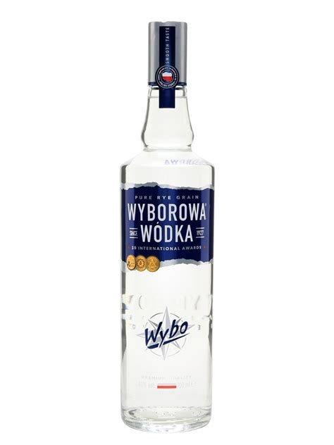 and vodka wyborowa blue vodka buy from world s best drinks shop